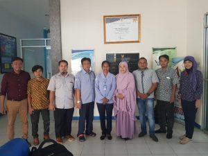Kunjungan Dosen Program Studi Ilmu Kelautan FMIPA Untan ke Kantor BPSPL Pontianak